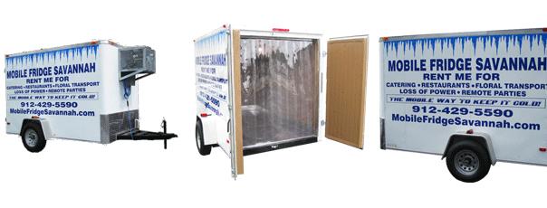 Refrigerated trailer rental mobile fridge savannah for Trailer rental savannah ga
